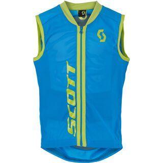 Scott Actifit Junior Vest Protector, vibrant blue green - Protektorenweste