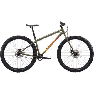 Kona Unit 2021, satin fatigue green - Mountainbike