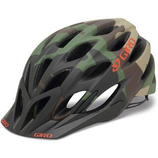 Giro Phase, matte green camo - Fahrradhelm