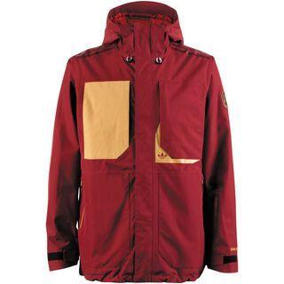 Adidas Aspis Shield Jacket , Collegiate Burgundy - Snowboardjacke
