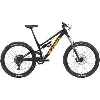 Kona Process 167 2016, black/green - Mountainbike