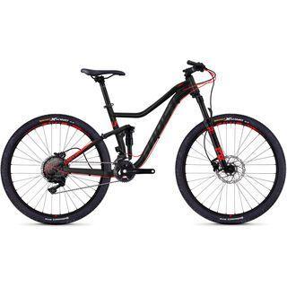 Ghost Lanao FS 5.7 AL 2018, black/neon red - Mountainbike