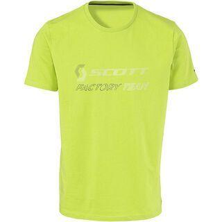 Scott CO Factory Team s/sl T-Shirt, lime green/black - T-Shirt