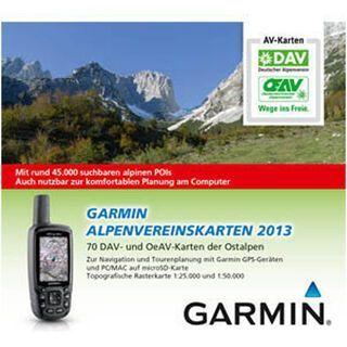 Garmin Alpenvereinskarten 2013 (microSD) - Karte
