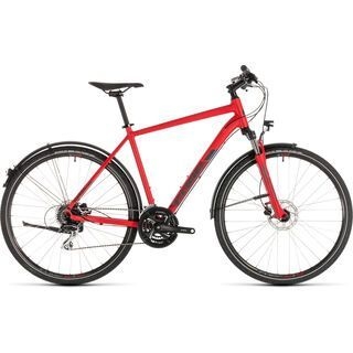 Cube Nature Allroad 2019, red´n´grey - Fitnessbike