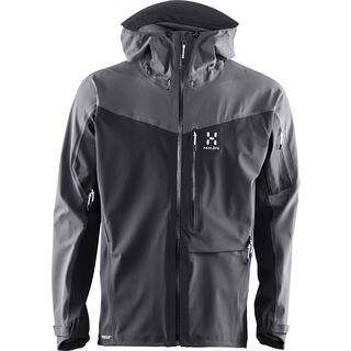 Haglöfs Touring Proof Jacket Men, true black/magnetite - Skijacke