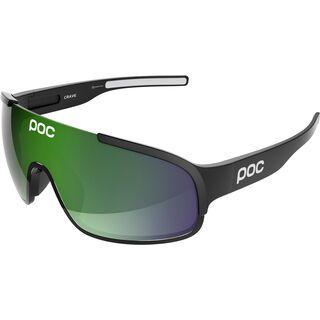 POC Crave, uranium black/Lens: brown green mirror - Sportbrille