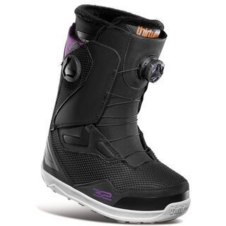 Thirtytwo TM-2 Double Boa Womens 2021, black - Snowboardschuhe