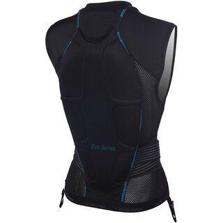 Icetools Evo Shield Lady, black/turquoise - Protektorenweste