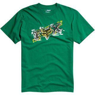 Fox Alarmed S/S Tee, Green - T-Shirt