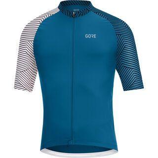 Gore Wear C5 Trikot sphere blue/white