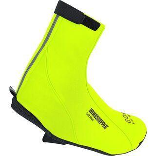 Gore Bike Wear Road Windstopper Soft Shell Überschuhe, neon yellow