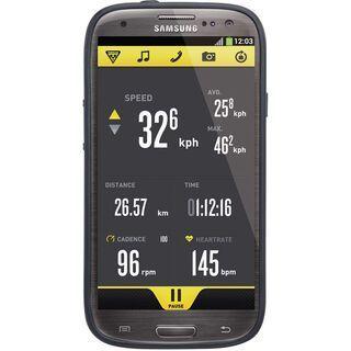 Topeak RideCase Samsung Galaxy S4 mit Halter, black - Schutzhülle