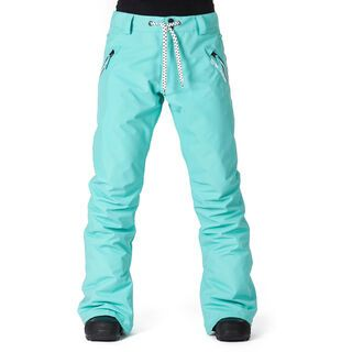 Horsefeathers Shirley Pants, pool blue - Snowboardhose