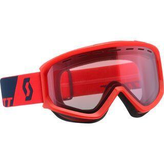 Scott Fact, fluo red/Lens: amplifier - Skibrille