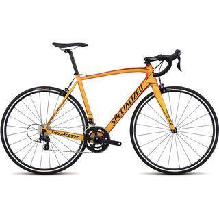 Specialized Tarmac SL4 Sport 2017, orange/yellow/black - Rennrad