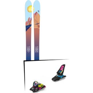Set: Icelantic Oracle 88 2018 + Marker Squire 11 ID black/pink/blue