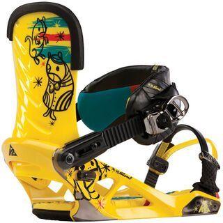 K2 National 2013, Yellow - Snowboardbindung