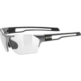 uvex sportstyle 202 v, gun black mat/Lens: variomatic smoke - Sportbrille