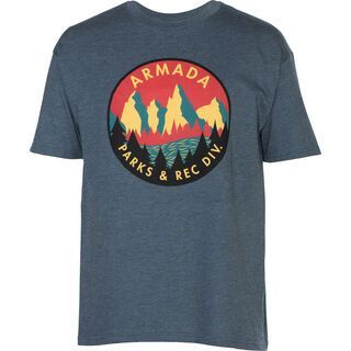 Armada Ranger Tee, navy - T-Shirt