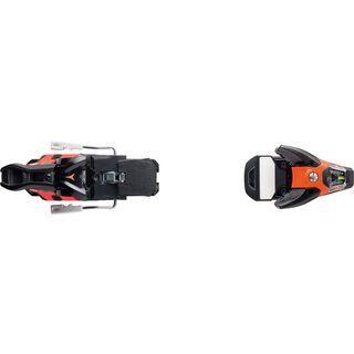 Salomon STH2 WTR 16, 90 mm 90 mm, black/orange - Skibindung