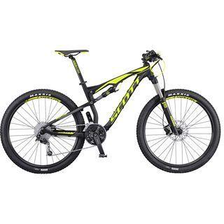 Scott Spark 760 2016, black/yellow - Mountainbike
