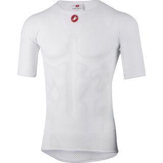 Castelli Core Mesh 3 SS, white - Unterhemd