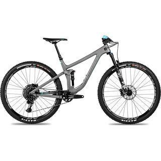 Norco Optic C 2 27.5 2018, grey/teal - Mountainbike