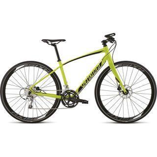 Specialized Vita Comp Disc 2015, Gloss Hyper Green/Black/White - Fitnessbike