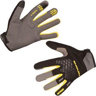 Endura MT500 Glove II, schwarz/gelb - Fahrradhandschuhe