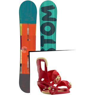 Set: Burton Custom Flying V 2015 +  Cartel EST (1191245S)