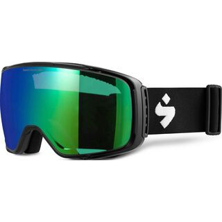 Sweet Protection Interstellar RIG Reflect, matte black/Lens: RIG emerald - Skibrille