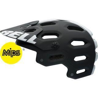 Bell Super 2 MIPS, matte black white viper - Fahrradhelm