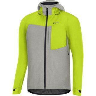 Gore Wear C5 Gore-Tex Trail Kapuzenjacke, green/grey - Radjacke