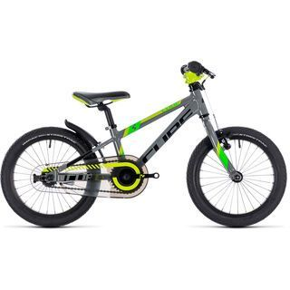 Cube Kid 160 2018, grey´n´green´n´kiwi - Kinderfahrrad