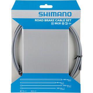 Shimano Bremszug-Set Road Sil-Tec beschichtet, grau