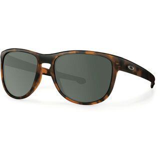 Oakley Sliver Round, brown tortoise/Lens: dark grey - Sonnenbrille