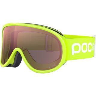POC POCito Retina, fluo yellow/Lens: green - Skibrille