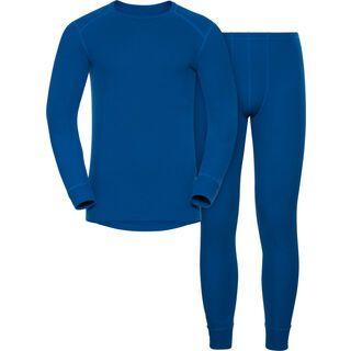 Odlo Active Original Warm Set, energy blue - Unterwäsche-Set