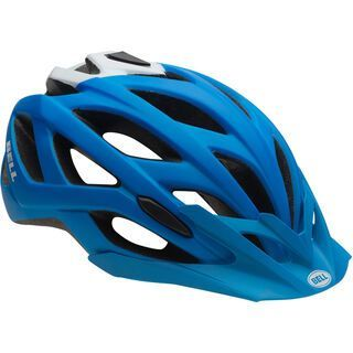 Bell Sequence, blue/white - Fahrradhelm