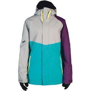 Nitro Limelight Jacket, Storm/Turq/Purple - Snowboardjacke