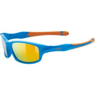 uvex sportstyle 507, blue-orange/Lens: mirror orange - Sportbrille