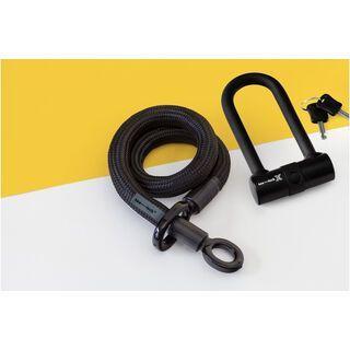 Tex-Lock Tex-Lock Eyelet S 80 cm inkl. X-Lock schwarz