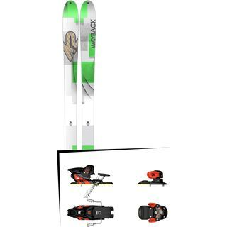 K2 SKI Set: Wayback 96 2016 + Salomon Warden MNC 13
