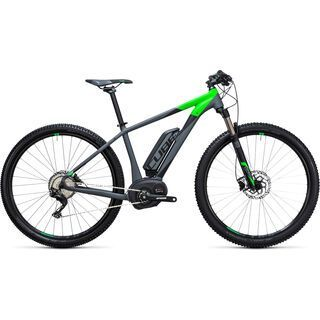 Cube Reaction Hybrid HPA Race 500 29 2017, grey´n´flashgreen - E-Bike