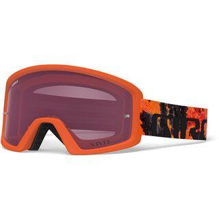Giro Tazz MTB inkl. Wechselscheibe, lava/Lens: vivid trail - MX Brille