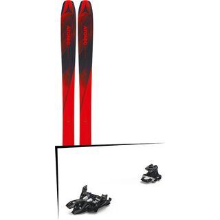 Set: Atomic Backland 107 2019 + Marker Alpinist 9 black/titanium