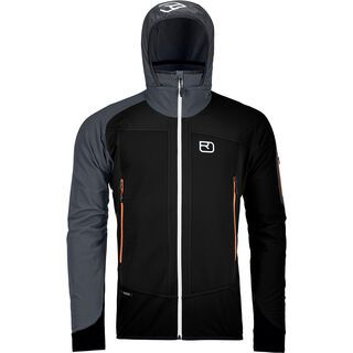 Ortovox Merino Naturtec Light Col Becchei Jacket M, black raven - Softshelljacke