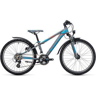 Cube Kid 240 Allroad 2017, grey´n´blue - Kinderfahrrad