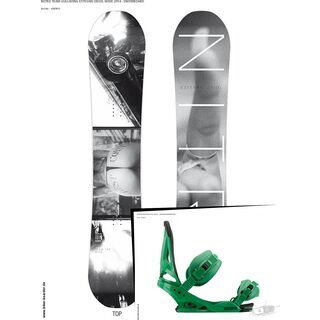 Set: Nitro Team Gullwing Estevan Oriol Wide  + Burton Mission (494001S)